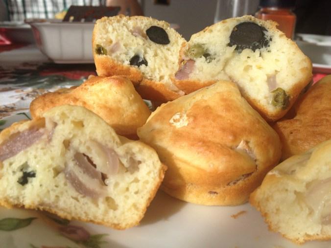 Muffin vista Caldera